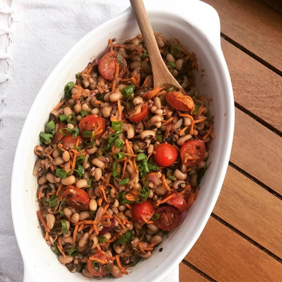 Salada de feijãofradinho