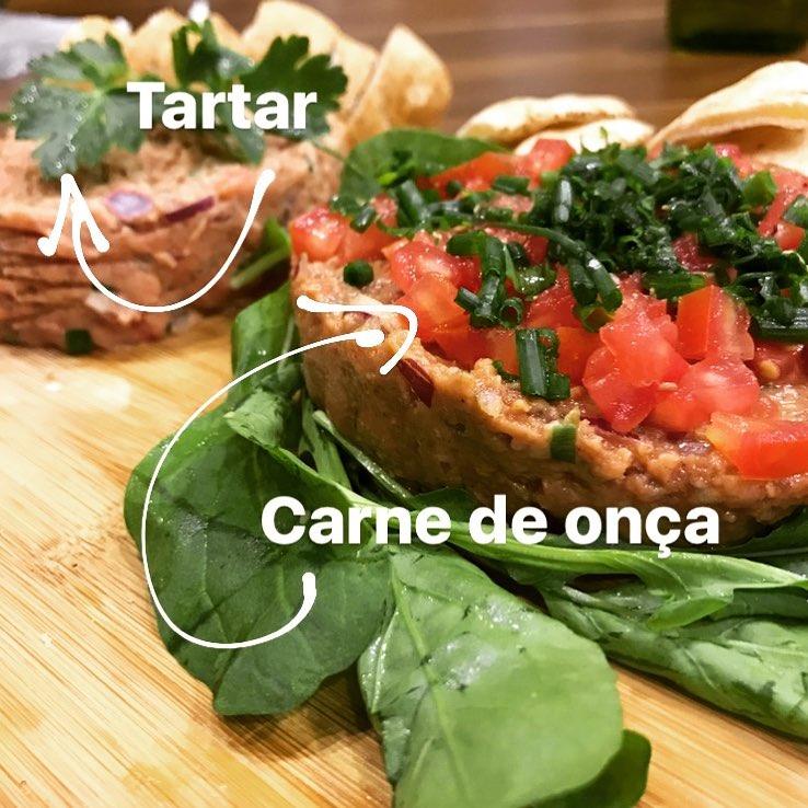 Carne de Onça eTartar