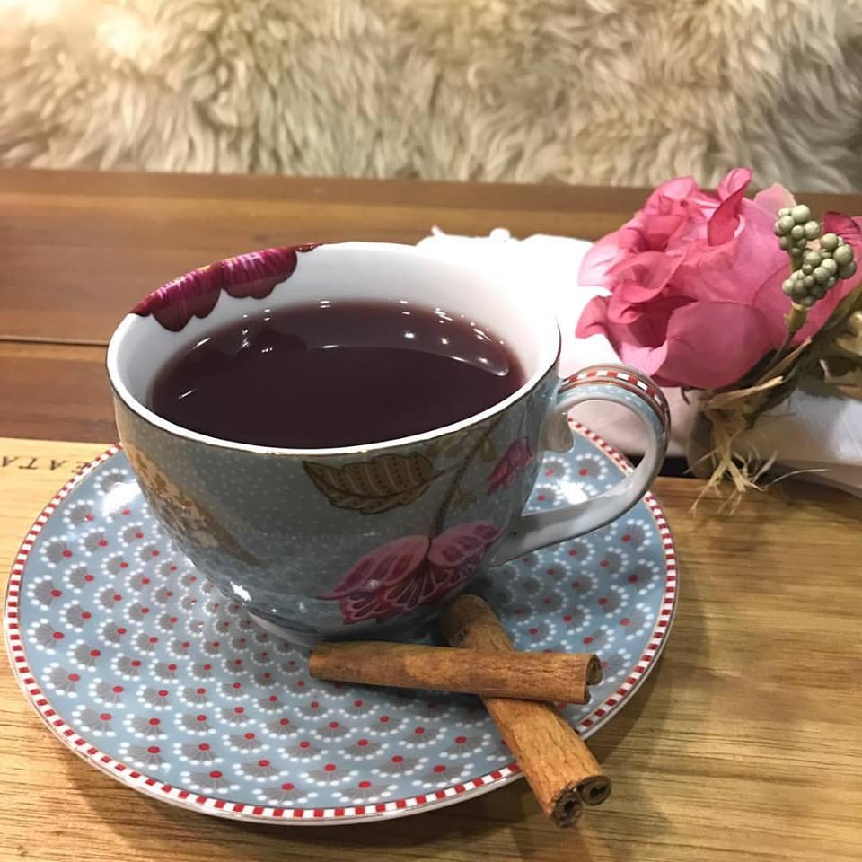 chá de vinho