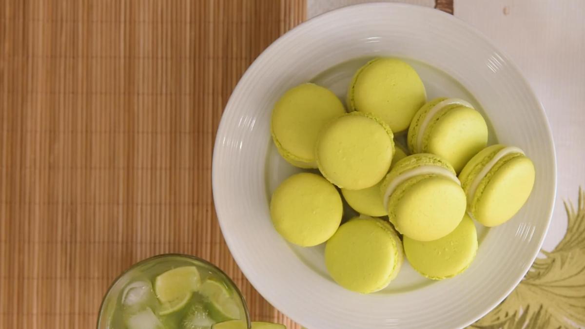 Macarons de Caipirinha com Sabrina Traldi daBeeCake